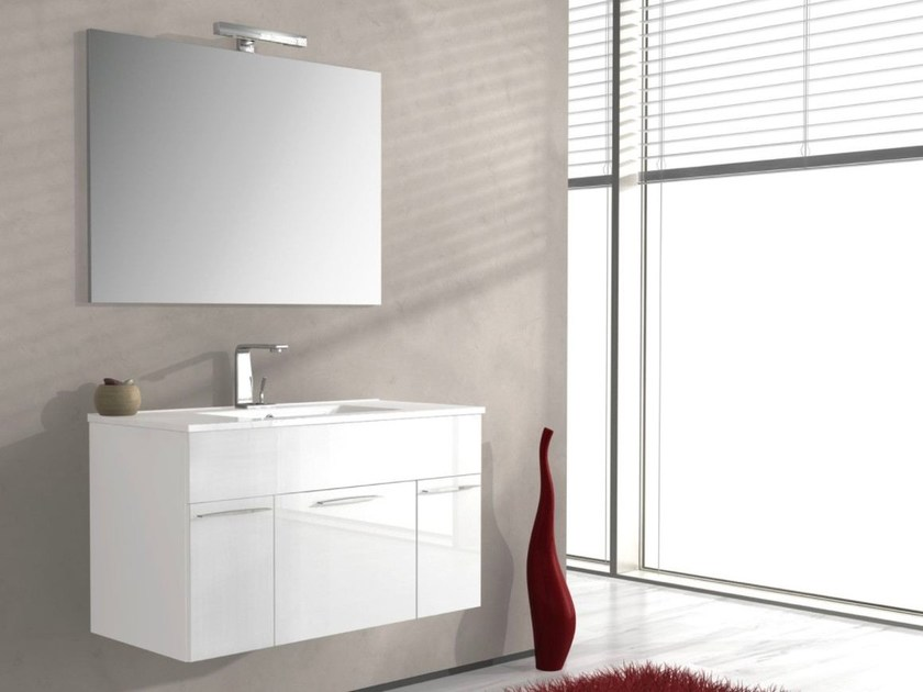 Wall-mounted vanity unit MONVISO by Remail by G.D.L.