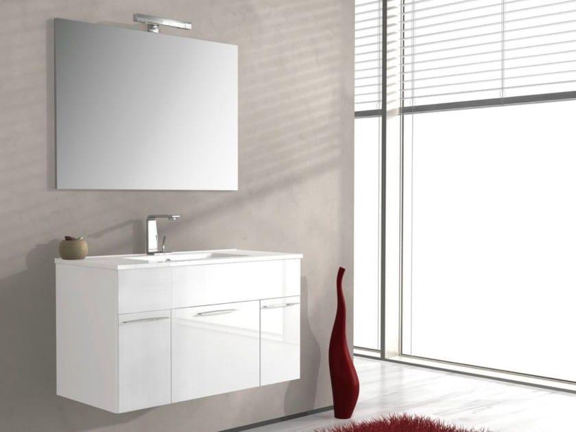 Lavabo Con Mobiletto Sospeso : Mobile lavabo sospeso monviso collezione mobiletti bagno by remail