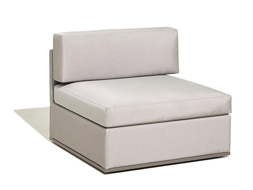 Modular fabric garden armchair MOOD XL | Garden armchair by Bivaq