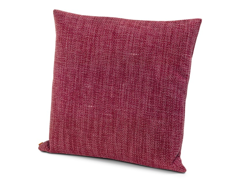Solid-color fabric cushion MOOMBA | Cushion by MissoniHome
