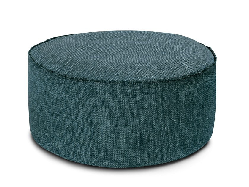 Round pouf with removable lining MOOMBA | Round pouf by MissoniHome