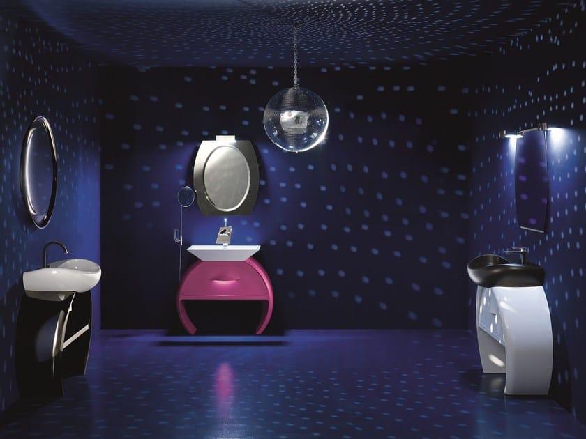 Bathroom furniture set MOON - 03 by Cerasa