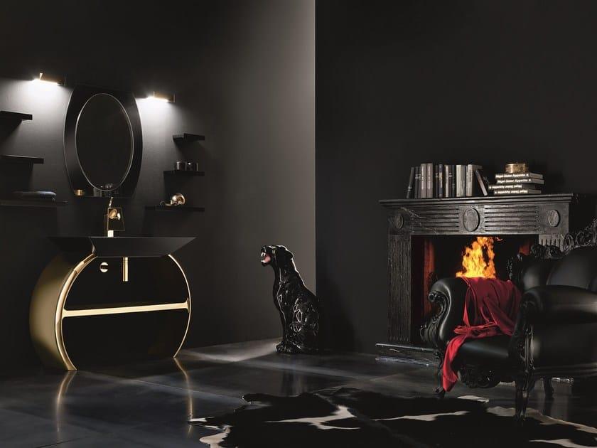 Bathroom furniture set MOON - 07 by Cerasa