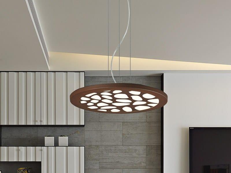 LED pendant lamp MOON 144/26 by Gibas