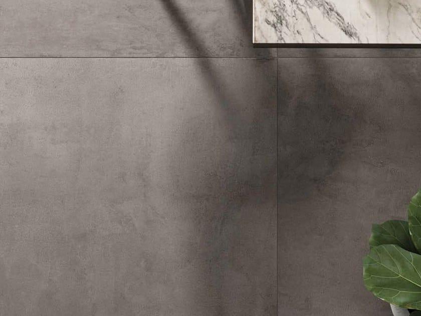 Porcelain stoneware wall/floor tiles with concrete effect MOON DG by Ceramica d'Imola
