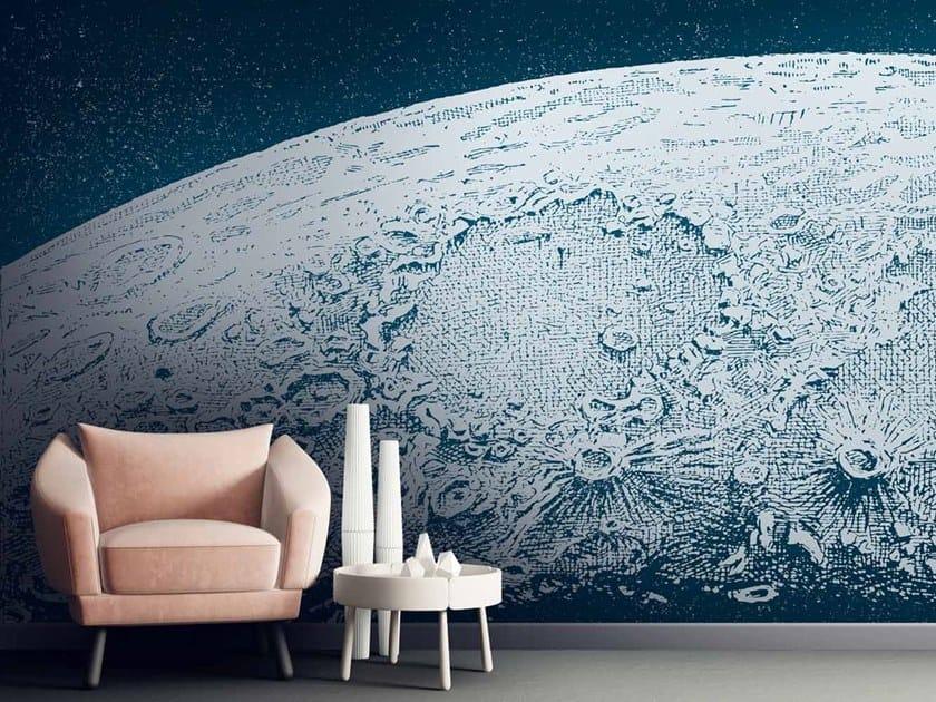 Digital printing wallpaper MOON by LGD01