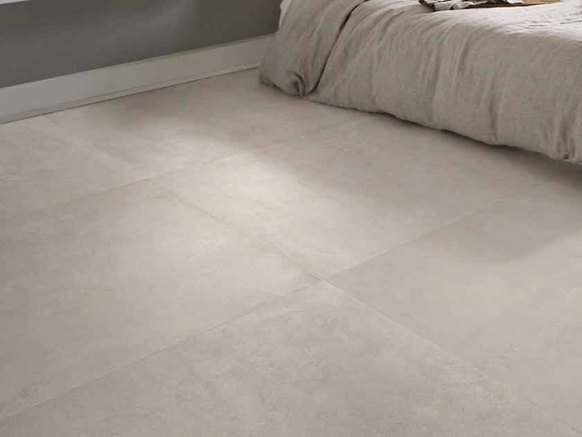 Porcelain stoneware wall/floor tiles with concrete effect MOON W by Ceramica d'Imola