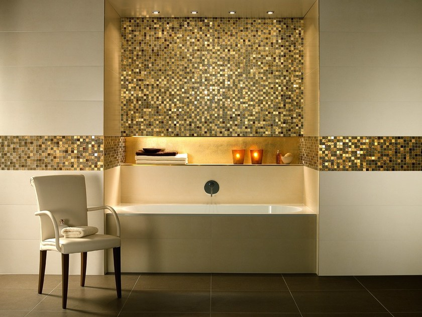 Wand- und Bodenbelag aus Feinsteinzeug mit Stein-Effekt MOONLIGHT By ...