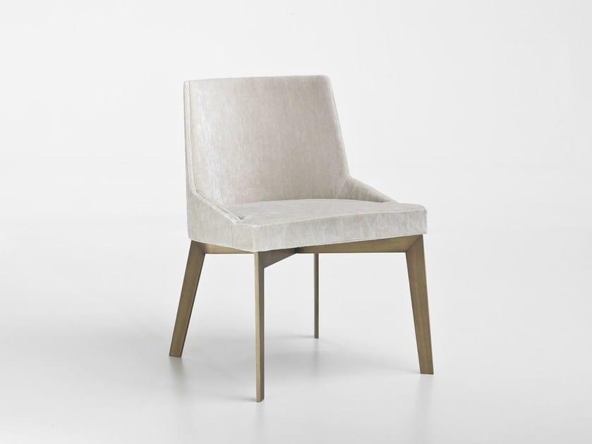 Sedia imbottita in tessuto MOORE | Sedia in tessuto by i 4 Mariani
