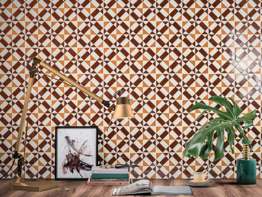 Ceramic wall tiles CHECKERED by Aleluia Cerâmicas