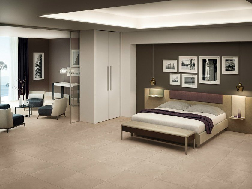Indoor/outdoor flooring MOOV BEIGE Moov Collection By CERAMICHE KEOPE