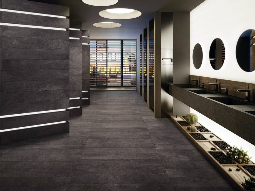 Indoor/outdoor flooring MOOV ANTHRACITE Moov Collection By CERAMICHE ...