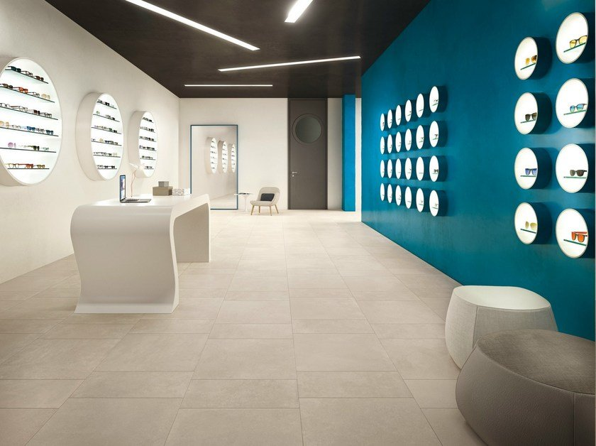 Indoor/outdoor flooring MOOV IVORY Moov Collection By CERAMICHE KEOPE