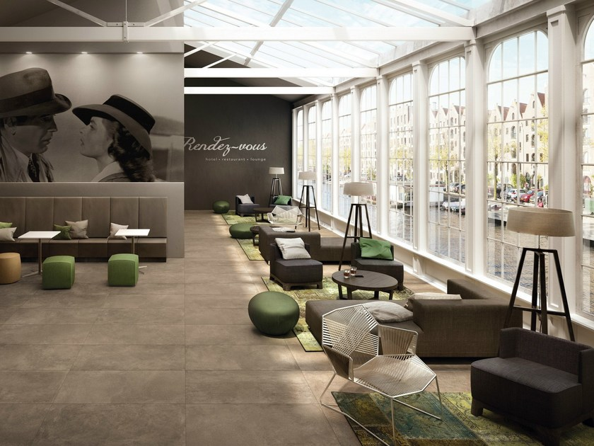 Indoor/outdoor flooring MOOV MOKA Moov Collection By CERAMICHE KEOPE