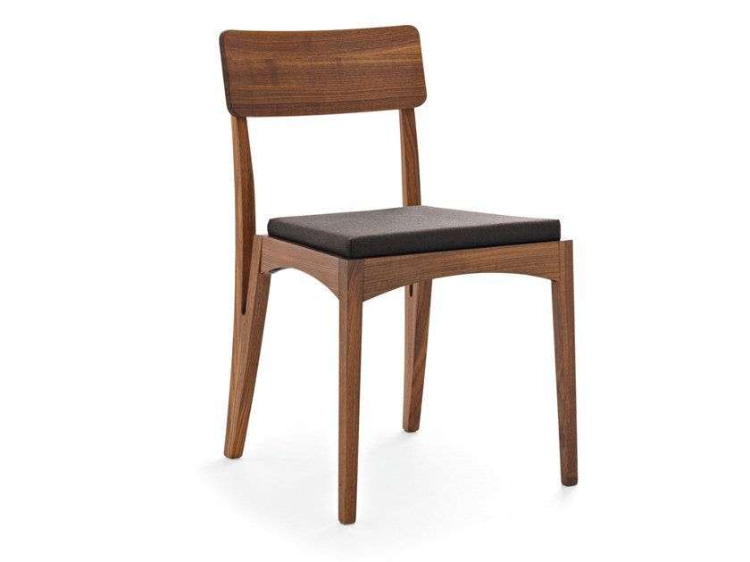 Wooden chair MORAAR | Chair by Passoni