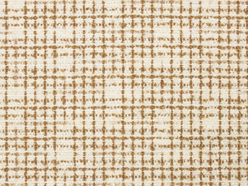 Jacquard wool fabric MORE IS MORE by Dedar