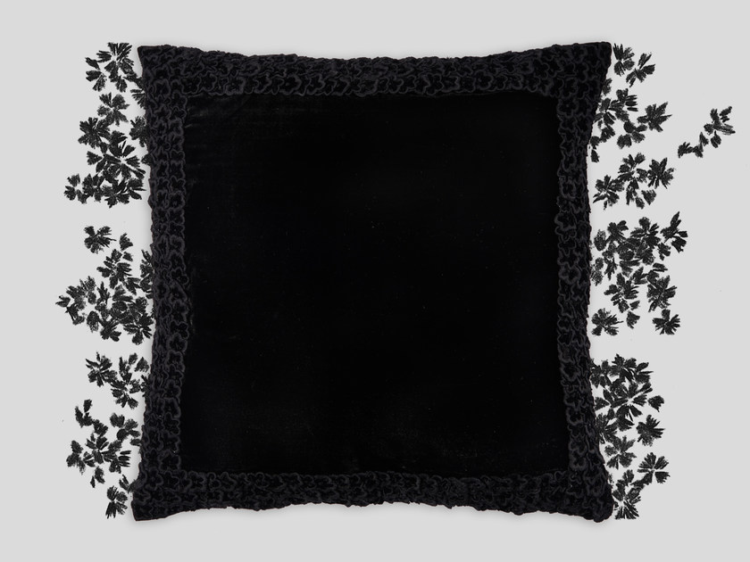Hand embroidered cushion MORENO by Jupe by Jackie