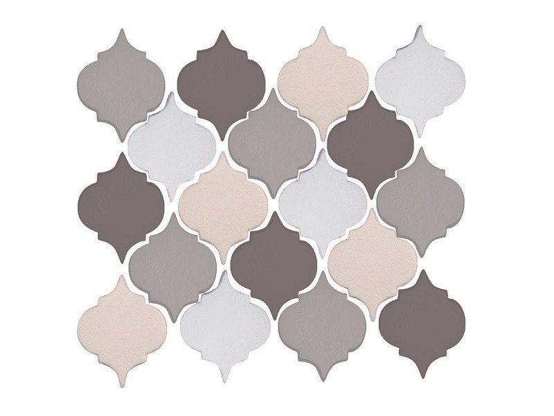Indoor faïence wall tiles MORESCO | MIX PACK.1 by Danilo Ramazzotti