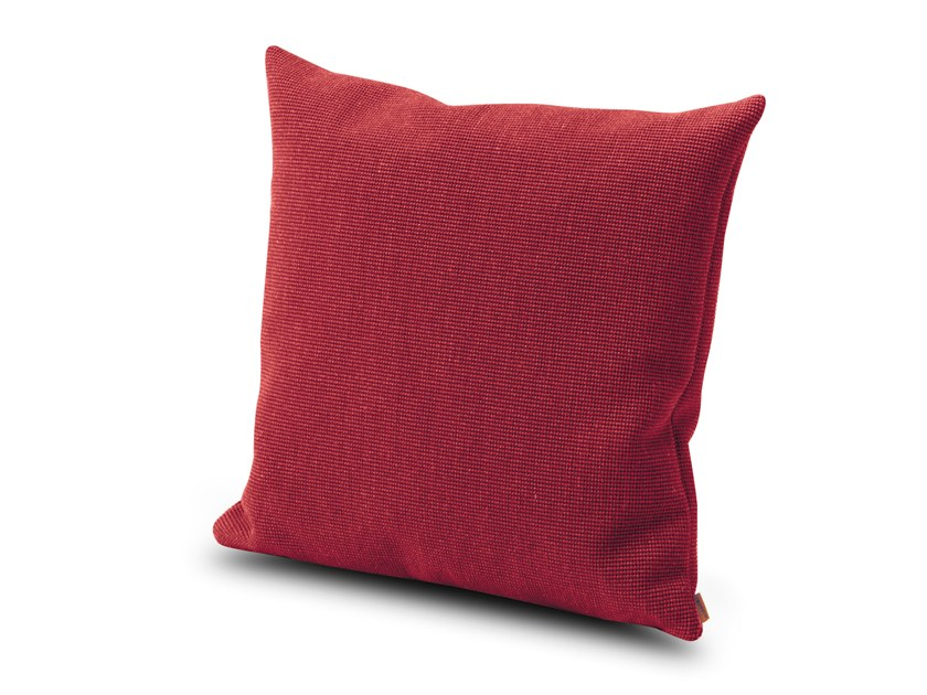 Solid-color fabric cushion MORGEX by MissoniHome