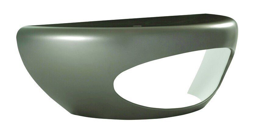 Bureau en polyuréthane avec tiroirs morphos by roche bobois design
