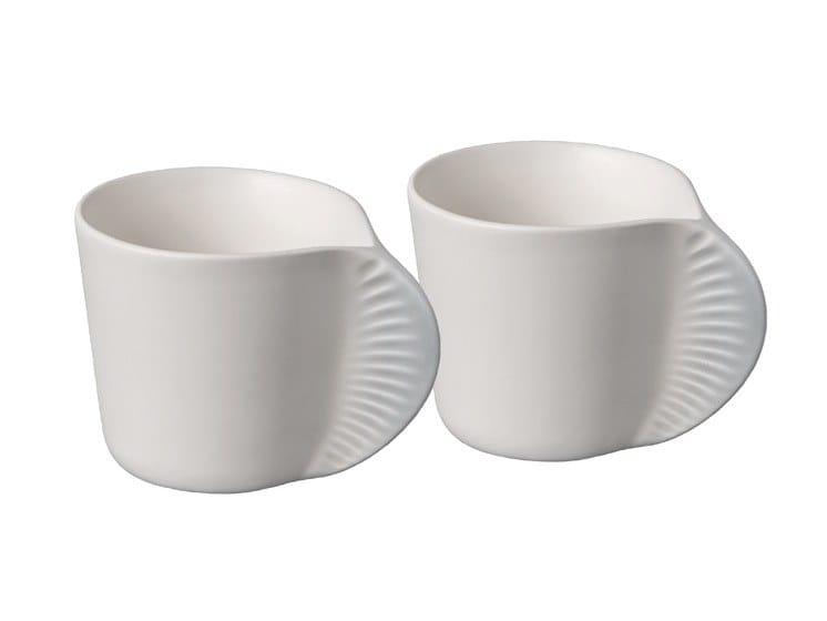 Tazza da caffè in ceramica MORPHOSE by IBRIDE