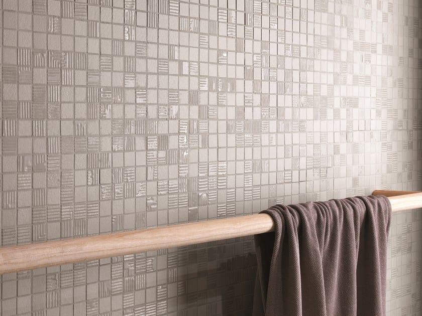 Mosaico in ceramica a pasta bianca MAT&MORE | Mosaico by FAP ceramiche