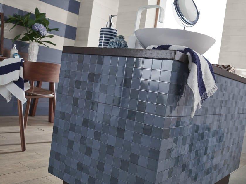 White-paste mosaic AROMA | Mosaic by Love Tiles