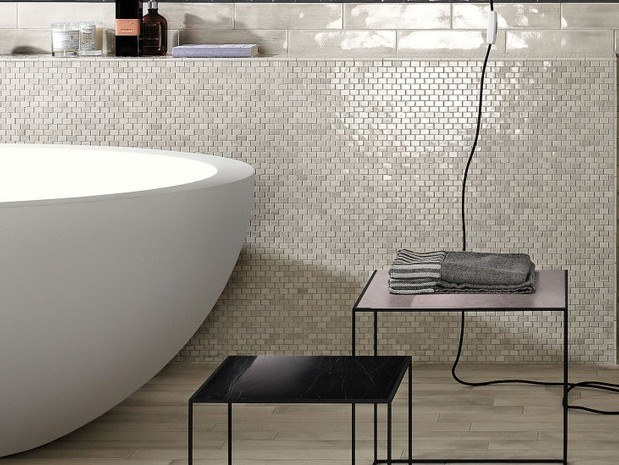 Mosaico in gres porcellanato MOSAICO BRICK by FAP ceramiche