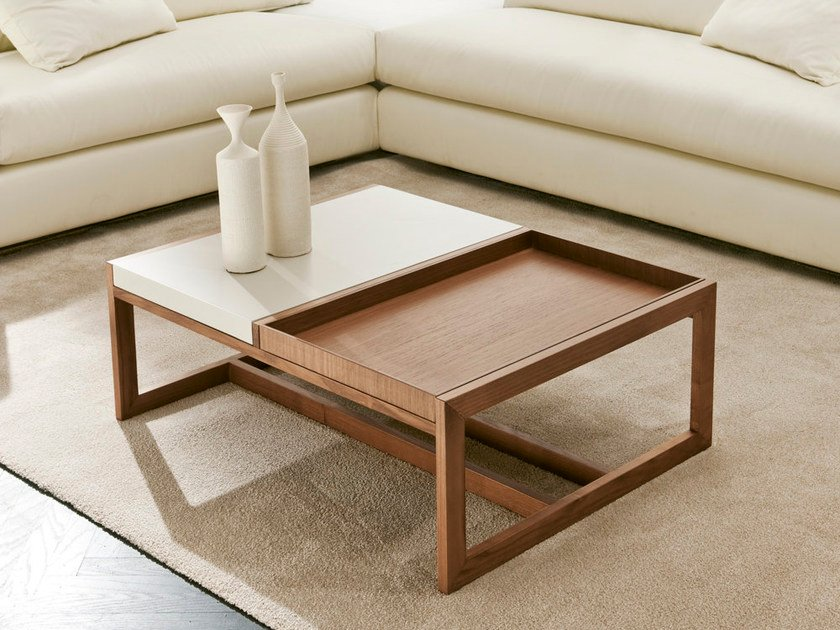 Low coffee table with tray MOSAICO | Coffee table by Pacini & Cappellini