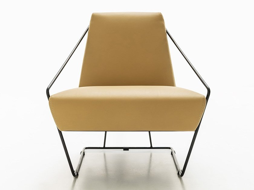 Armchair with armrests MOSCOVA by NICOLINE