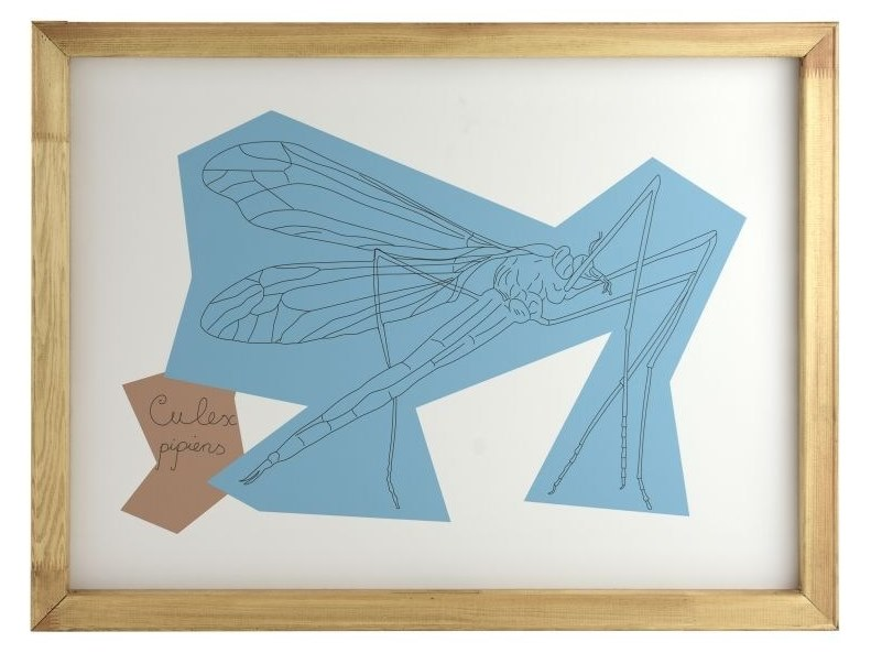 Paper Print on paper MOSQUITO by Gie El Home
