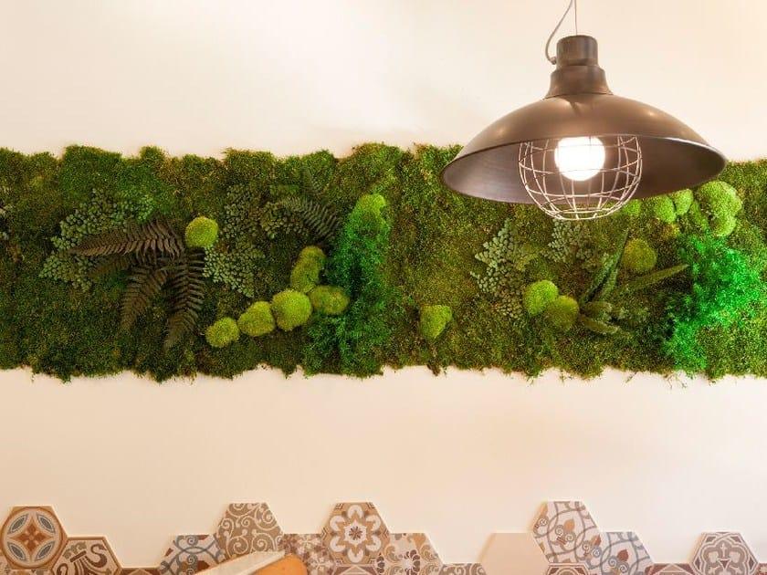 Stabilized plants indoor vertical garden MOSS&PLANTS MID by GREENAREA