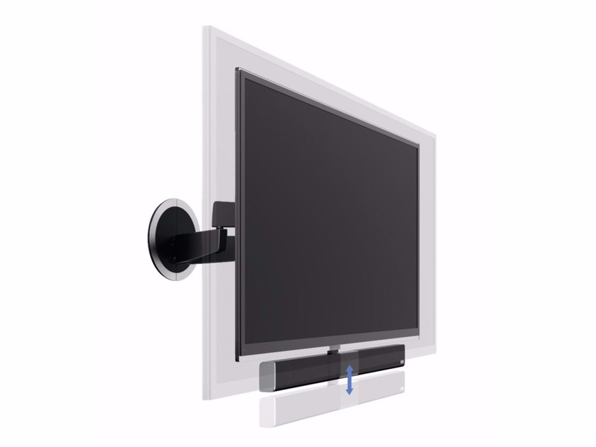 Wall mounted stand MOTIONSOUNDMOUNT by Vogel's - Exhibo