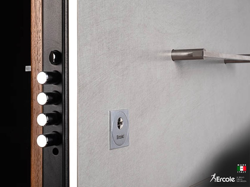 Electronic security door lock MOTORIZED by Ercole