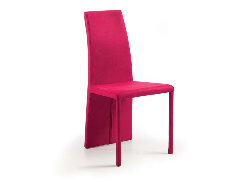 Upholstered high-back chair MOTTA by Trevisan Asolo
