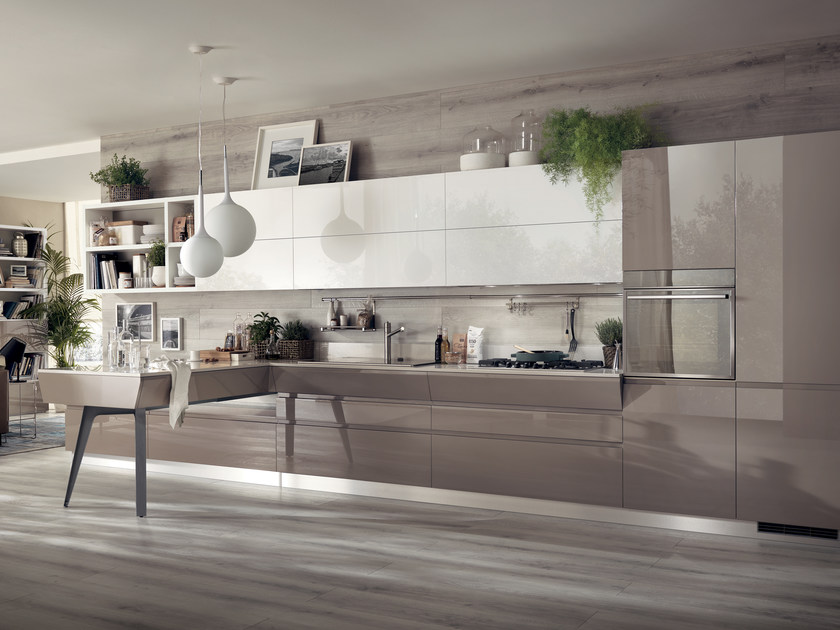 Fitted kitchen MOTUS by Scavolini