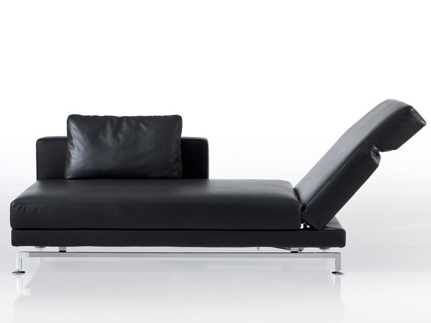 Leather day bed MOULE | Leather day bed by brühl