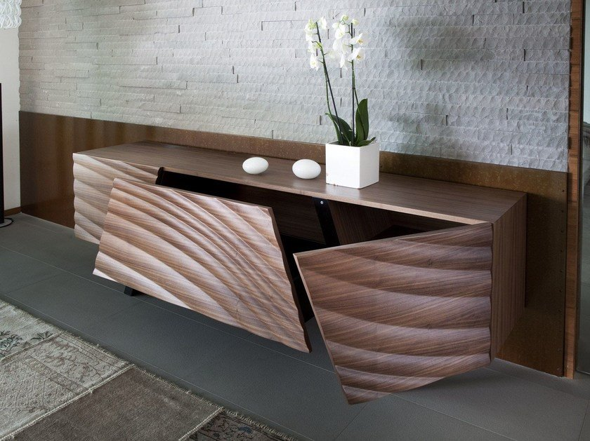 Madia in MDF MOVE wood 617 by Tonon
