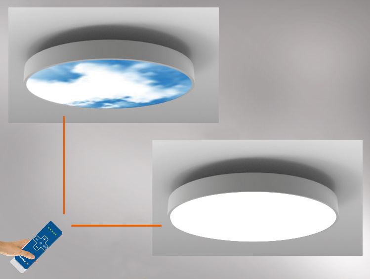 Moving sky led lighting panel ceiling light by neonny led direct light ceiling light moving sky led lighting panel ceiling light by neonny aloadofball Choice Image