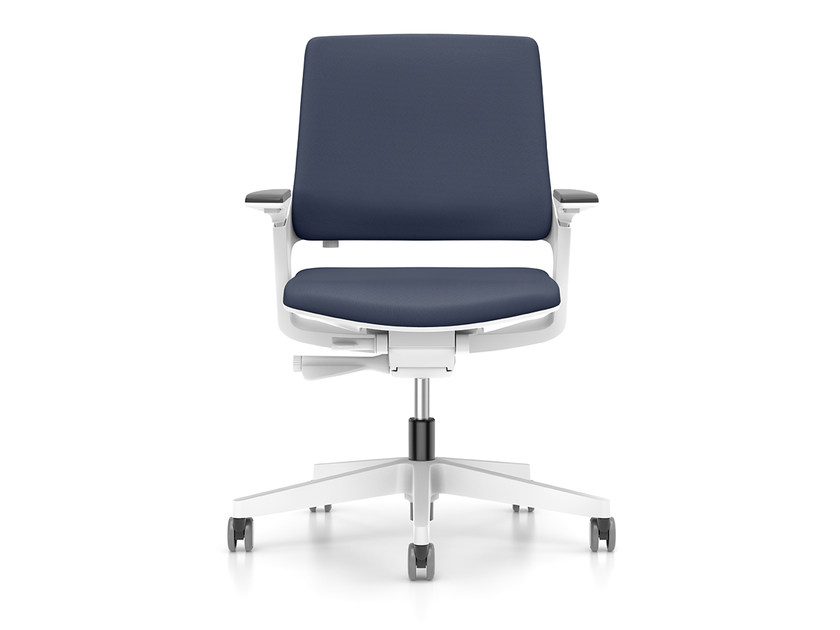 Ergonomic swivel fabric task chair MOVY IS3 13M3 by Interstuhl