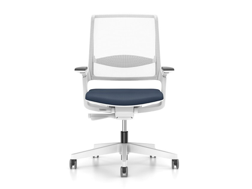 Ergonomic mesh task chair with casters MOVY IS3 14M3 by Interstuhl
