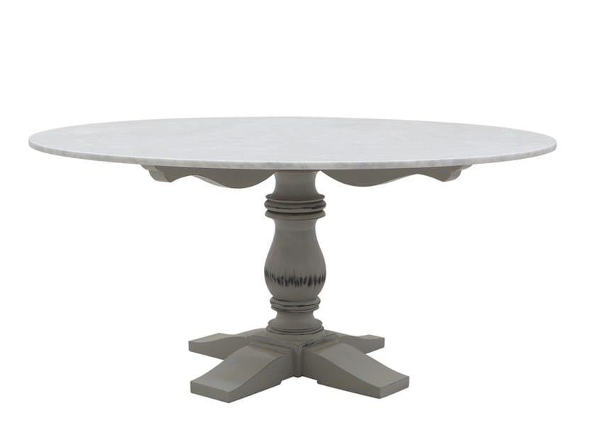 Tavoli Di Marmo Da Giardino : Mozaic tavolo rotondo collezione mozaic by il giardino di legno