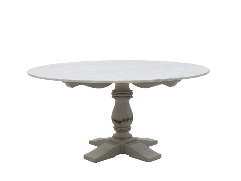 Tavolo Da Pranzo Rotondo : Tavolo da pranzo rotondo in marmo mozaic tavolo rotondo il