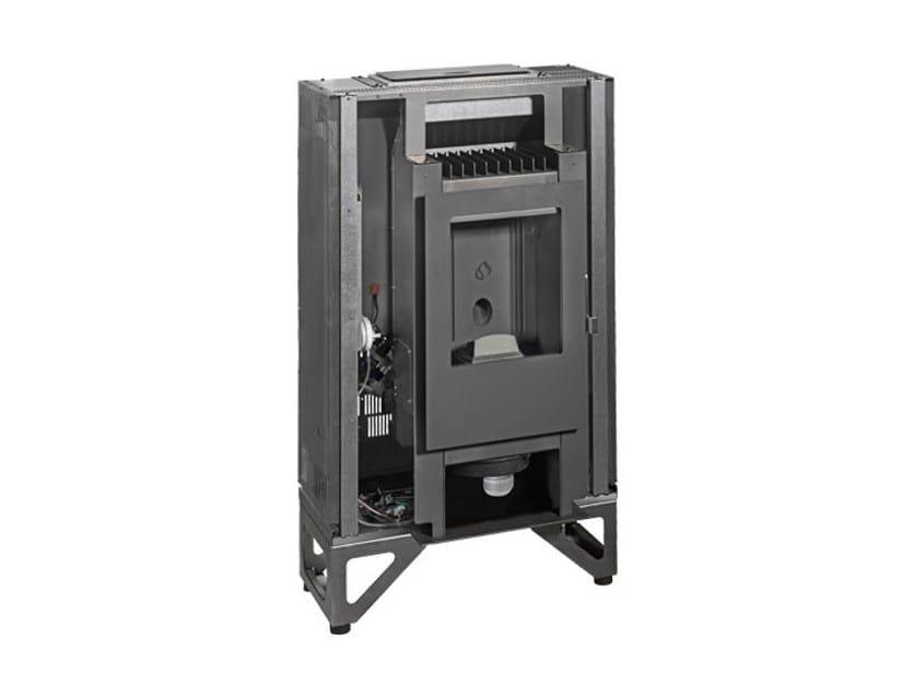 Pellet Closed Monoblock Boiler fireplace MP 938 by Piazzetta