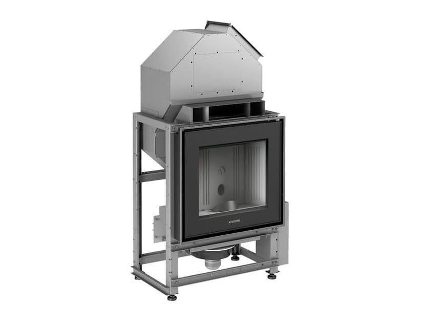 Pellet Closed Monoblock Boiler fireplace MP 973 by Piazzetta