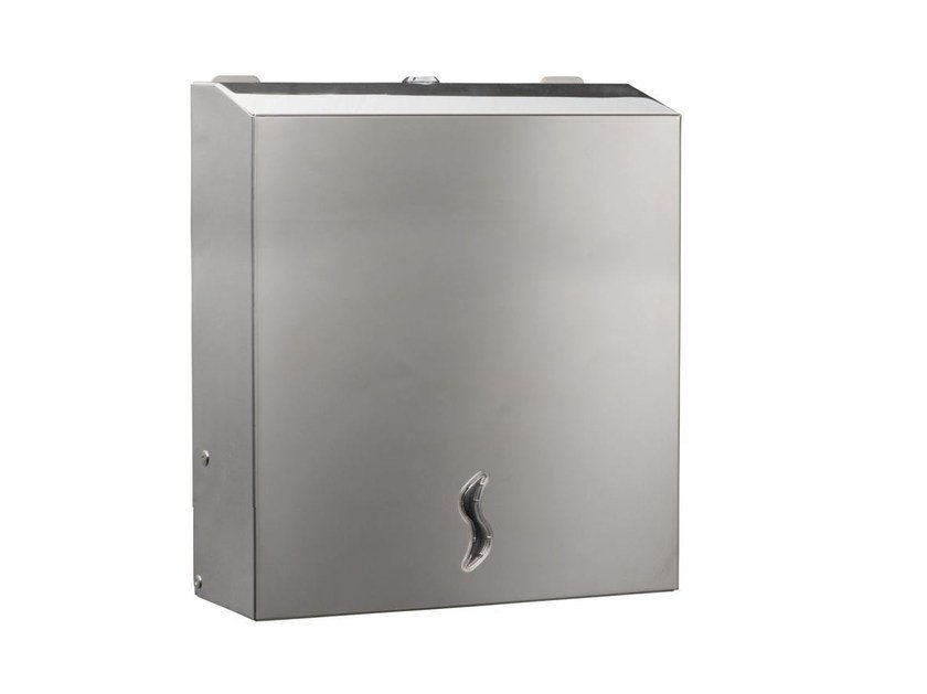 Stainless steel Paper towels distributor MP827 | Paper towels distributor by Saniline