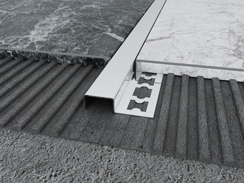 Stainless Steel Floor Transition Profile MPS-E by Mox Profile Systems