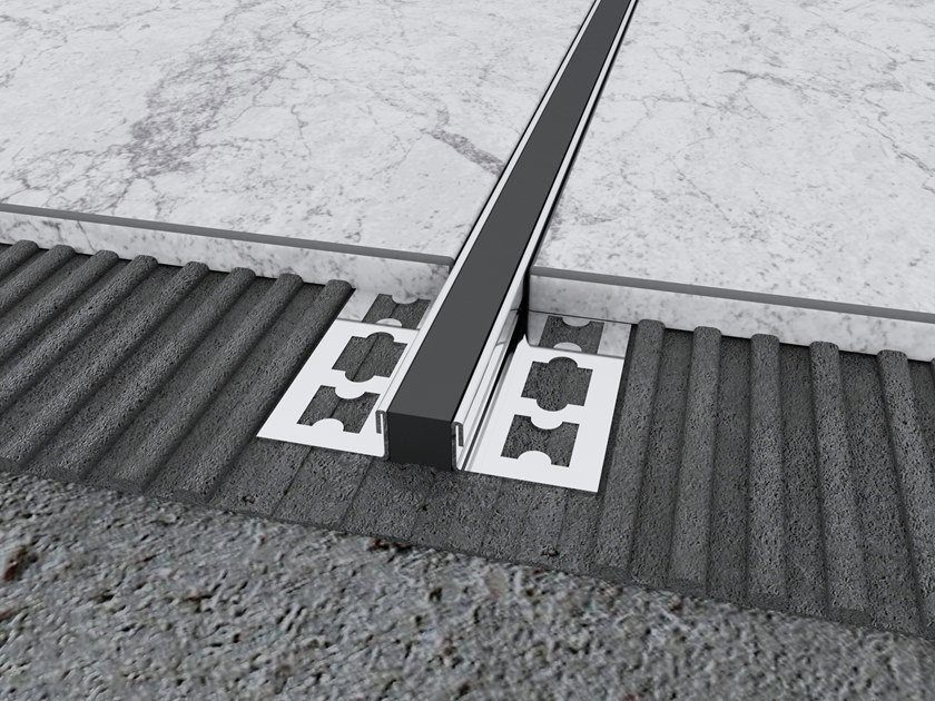 Stainless Steel Expansion Joint Profile MPS-YD by Mox Profile Systems