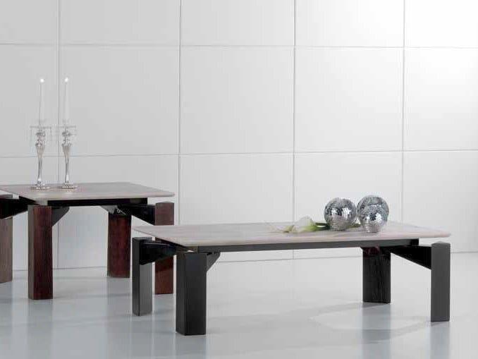Rectangular travertine coffee table MR.TANGO | Rectangular coffee table by International Marmi