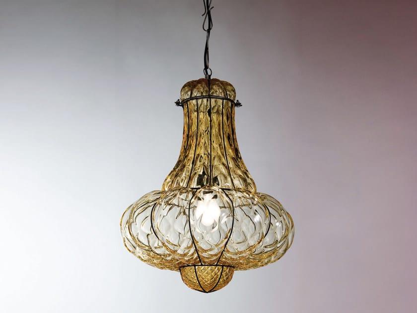Lampade In Vetro Di Murano : Lampada a sospensione in vetro di murano doge ms 118 by siru